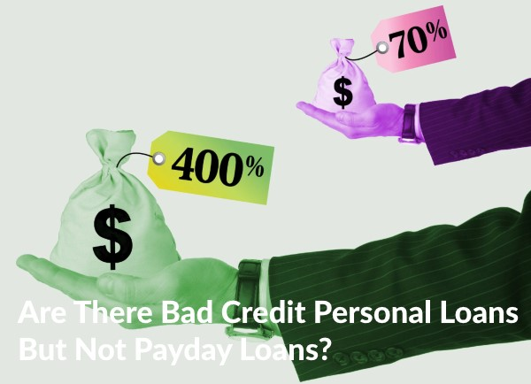 bad credit personal loans not payday loans